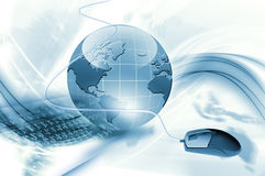 Bestes Konzept des globalen Geschäfts Lizenzfreies Stockfoto