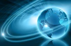 Bestes Konzept des globalen Geschäfts Stockfoto