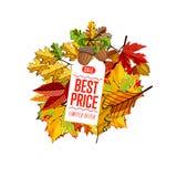 Bestes Preisschild Begrenztes Angebot Stockfoto