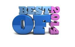 Bestes von 2014 Lizenzfreies Stockfoto