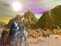 Bestie di fantasia royalty illustrazione gratis
