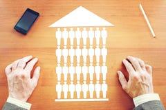 Bestimmung der Wohnung Lizenzfreie Stockfotos