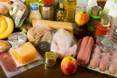 Bestimmung mit Gemüse und Fleisch Lizenzfreies Stockfoto