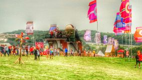 Bestival 2014 royalty free stock photo