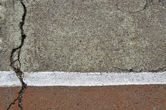 Bestrating asfalt Royalty-vrije Stock Afbeelding