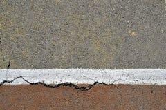 Bestrating asfalt Royalty-vrije Stock Foto's