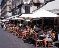 Bestratingskoffie, Parijs Stock Fotografie