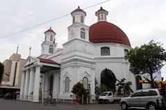 Bestreitbar die Ikone von Kota Lama Old Town von Semarang, Indonesien Lizenzfreie Stockfotografie