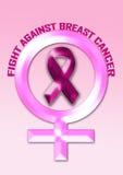 Bestrijding van borstkanker Royalty-vrije Stock Afbeelding