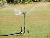 Bestrooi irrigatie royalty-vrije stock afbeeldingen