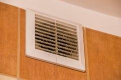 Bestrooid ventilatietraliewerk Royalty-vrije Stock Afbeeldingen