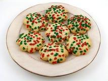 Bestrooide koekjes stock foto's