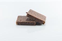 Bestrukna chokladrån för mellanmål Fotografering för Bildbyråer