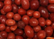 bestrukna jordnötter för godis Royaltyfria Bilder