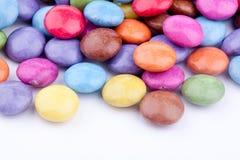 Bestrukna pills för socker Royaltyfri Bild
