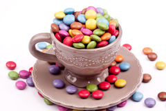 Bestrukna pills för socker Royaltyfria Bilder