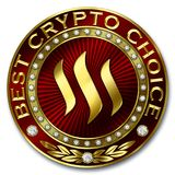 Best Crypto Choice - STEEM Stock Images