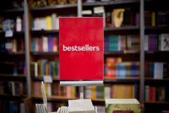 Bestseller da livraria Imagens de Stock Royalty Free