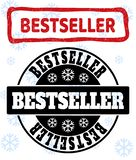 Bestseller Grunge and Clean Stamp Seals for New Year royalty free illustration