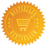 Bestseller icon royalty free illustration
