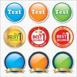 Bestseller- Ikone Lizenzfreies Stockbild