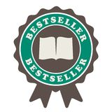 Bestseller ilustraci promocyjny znak royalty ilustracja