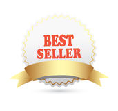 Bestseller label Royalty Free Stock Image