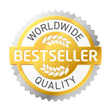 Bestseller label Stock Image