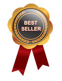 Bestseller medal. On white background Royalty Free Stock Images