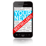 Bestseller mobile phone Royalty Free Stock Photography