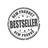 Bestseller, new product vector stamp Royalty Free Stock Photography