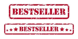 Bestseller pieczątki royalty ilustracja
