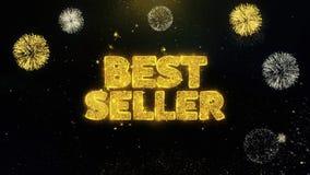 Bestseller pisać złociste cząsteczki wybucha fajerwerku pokazu