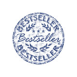Bestseller rubber stamp. Blue grunge rubber stamp with the word bestseller written inside the stamp vector illustration