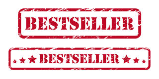 Bestseller rubber stamps Stock Photo