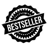 Bestseller stamp rubber grunge Stock Photography