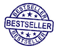 Bestseller Stamp Shows Top Rated Or Leader Royalty Free Stock Images
