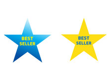 Bestseller stars for products Royalty Free Stock Photography