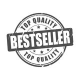 Bestseller, top quality vector stamp. Bestseller, top quality vector illustration stamp Royalty Free Stock Images