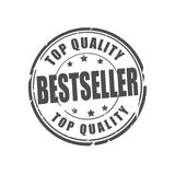 Bestseller, top quality vector stamp. Bestseller, top quality vector illustration stamp Royalty Free Stock Photo