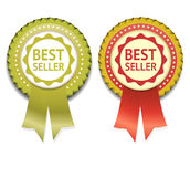 Bestseller Vector Label. Stock Photos