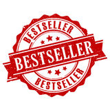 Bestseller vector stamp. On white background Royalty Free Stock Photo