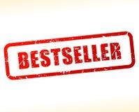 Bestselleru znaczek na białym tle Zdjęcia Stock