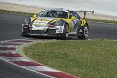 Bestuurder Christophe Lapierre Team Sebastien Loeb Royalty-vrije Stock Afbeeldingen