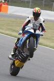 Bestuurder Daniel Rivas Team Easyrace Stock Afbeeldingen