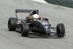 Bestuurder HERIAU Gilles Teamformule MOTORSPORT Royalty-vrije Stock Foto