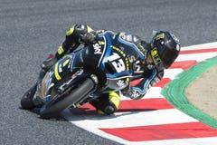 Bestuurder Vietti Ramus, Celestino Moto3 Junior Team VR46 Stock Fotografie