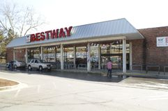 The Bestway store stock photography