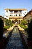 Besuch Alhambra Stockbild