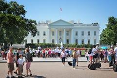 Besuch des Weißen Hauses stockfoto